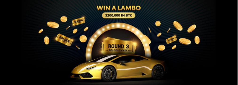freebitcoin sorteo auto LAMBORGHINI