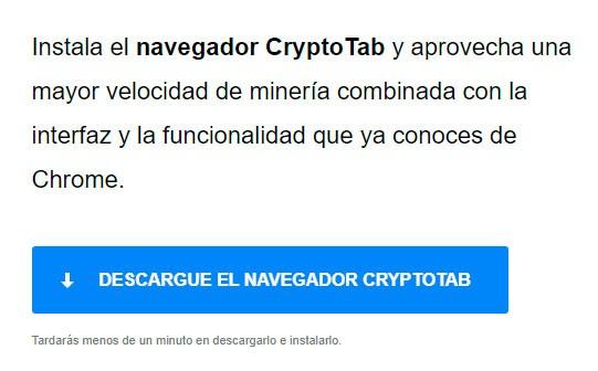 CryptoTab descargar
