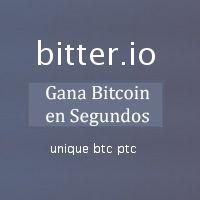Bitter.io Satoshis Gratis para Todo el Mundo