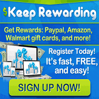 Keep Rewarding logo