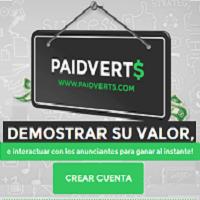 PaidVerts ganar dinero desde casa