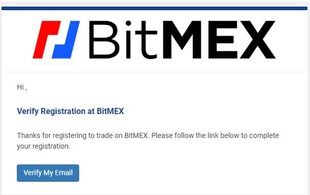 """BitMex: """"Registro"""""""
