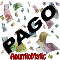 Comprobante de pago Anuntiomatic