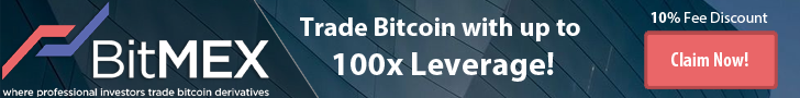BitMex banner