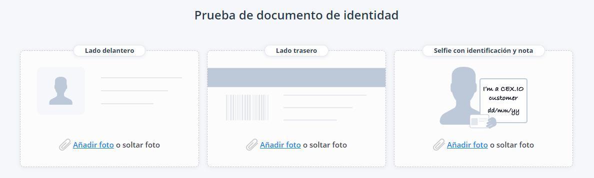 CEX.IO: Registro