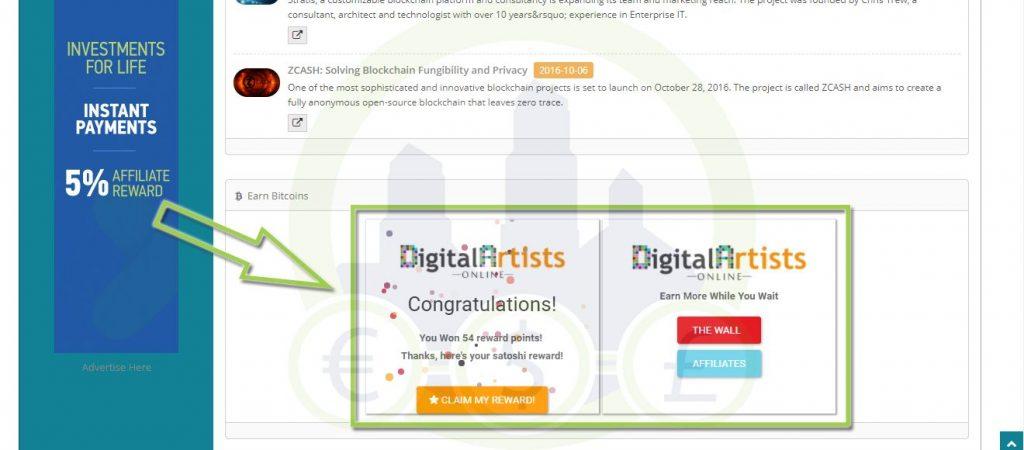 Digital Artists Online ver anuncios