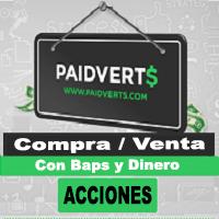 Paidverts Compra y Venta de Acciones