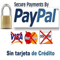 Crear paypal sin tarjeta de credito