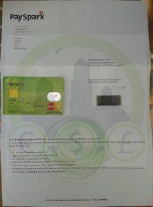Tarjeta PaySpark de SolidtrustPay