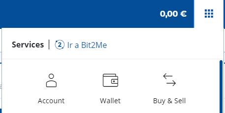Bit2me abrir wallet