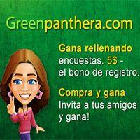 GreenPanthera Consigue el Bono de 5$ GRATIS