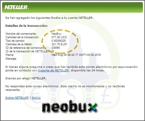 Neobux paga