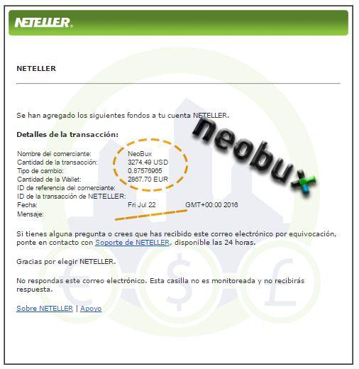 El Mayor Pago Conseguido en Neobux