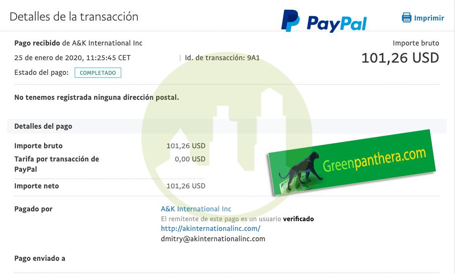 Nuevos pagos de Neobux y Greenpanthera