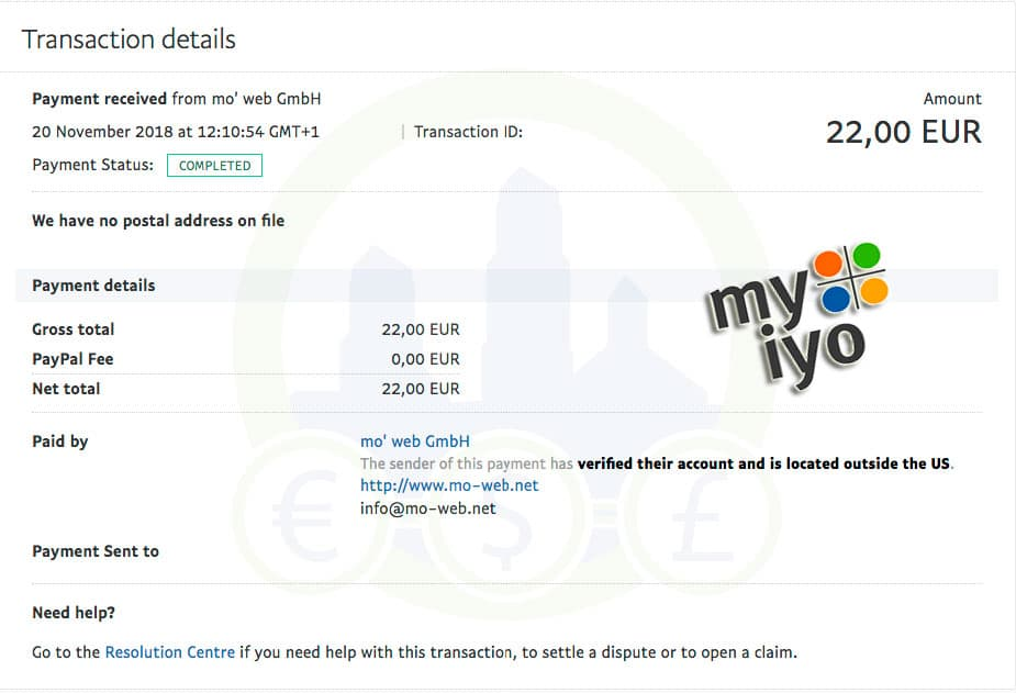 Myiyo comprobante de pago