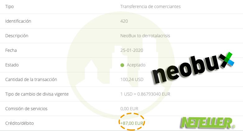 Nuevos Pagos de Neobux
