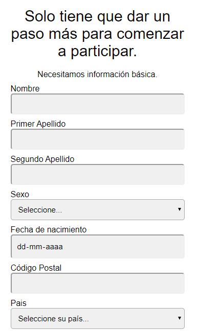 Survey Work registro
