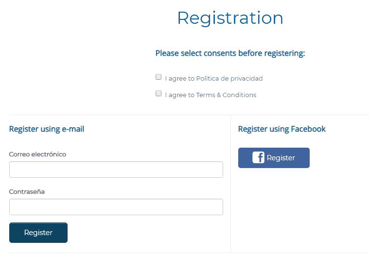 "SurveyRewardz: ""Registro"""